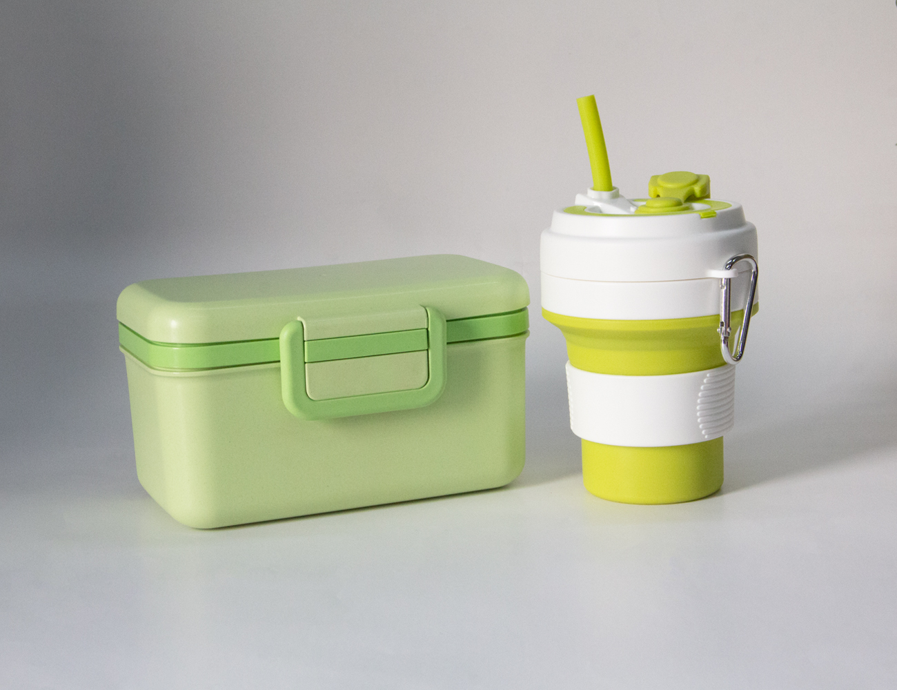 Bamboo Fiber Lunch Box Set 2