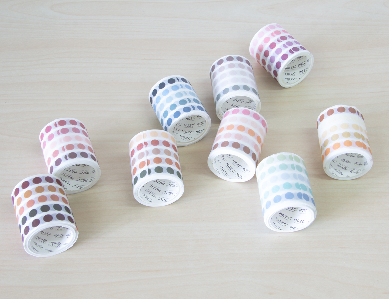 Mini Dot Matte Sticker Roll (6 mm)